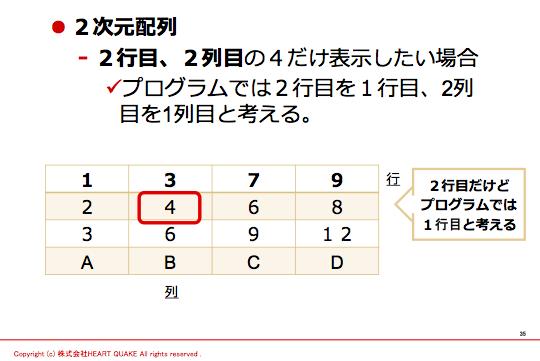 PHP 2次元配列